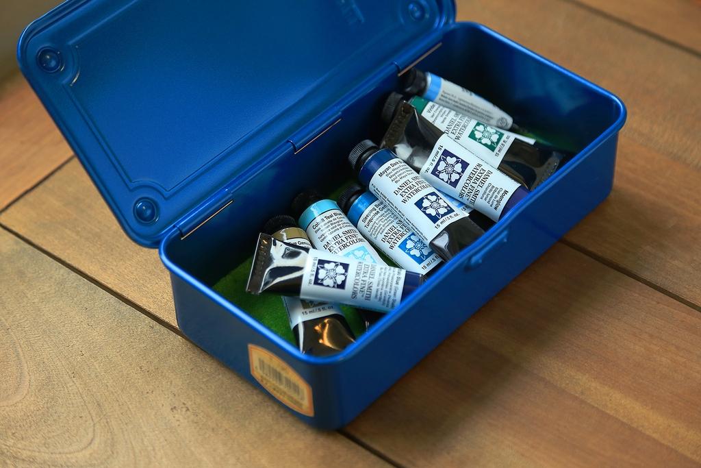 TRUSCO職人工具盒 - 內裝顏料範例