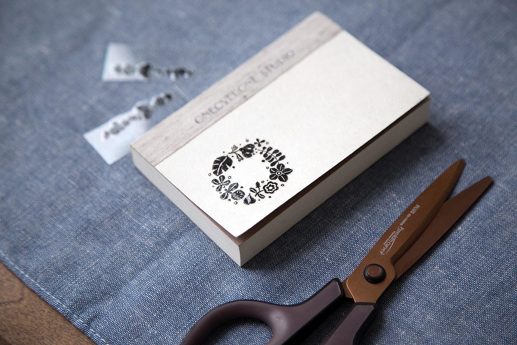 轉印裝飾貼紙 - 北歐紋樣簡約花禮