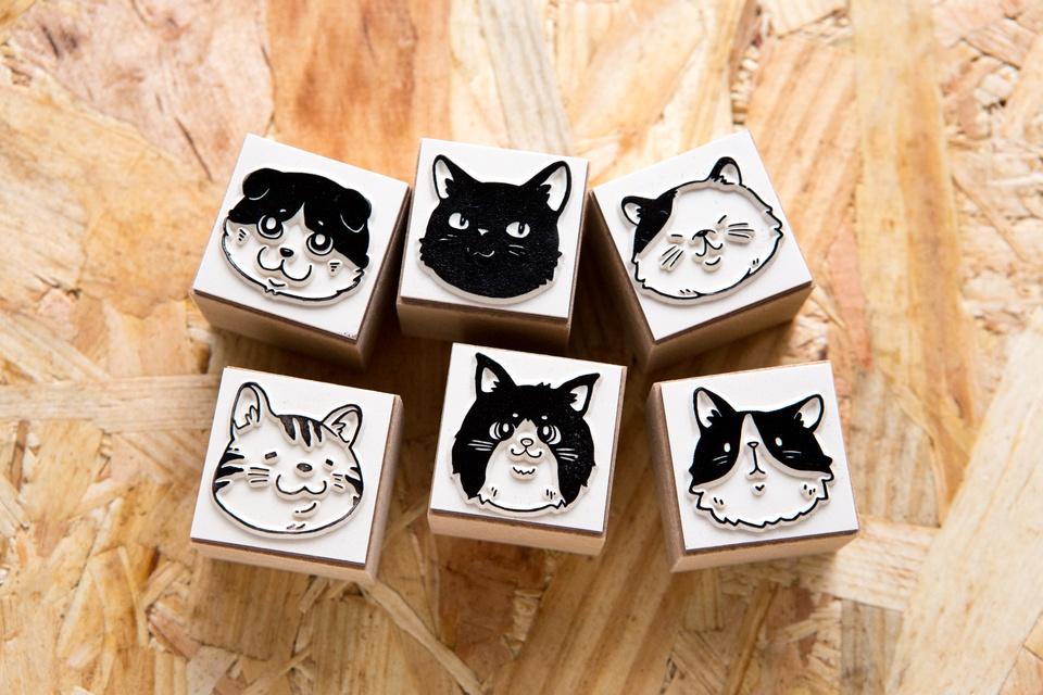 DIY 印章組 - 貓星人派對