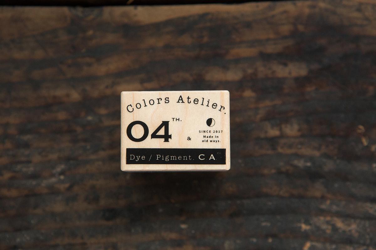 復古Logo B 楓木印章 - 色彩工坊系列