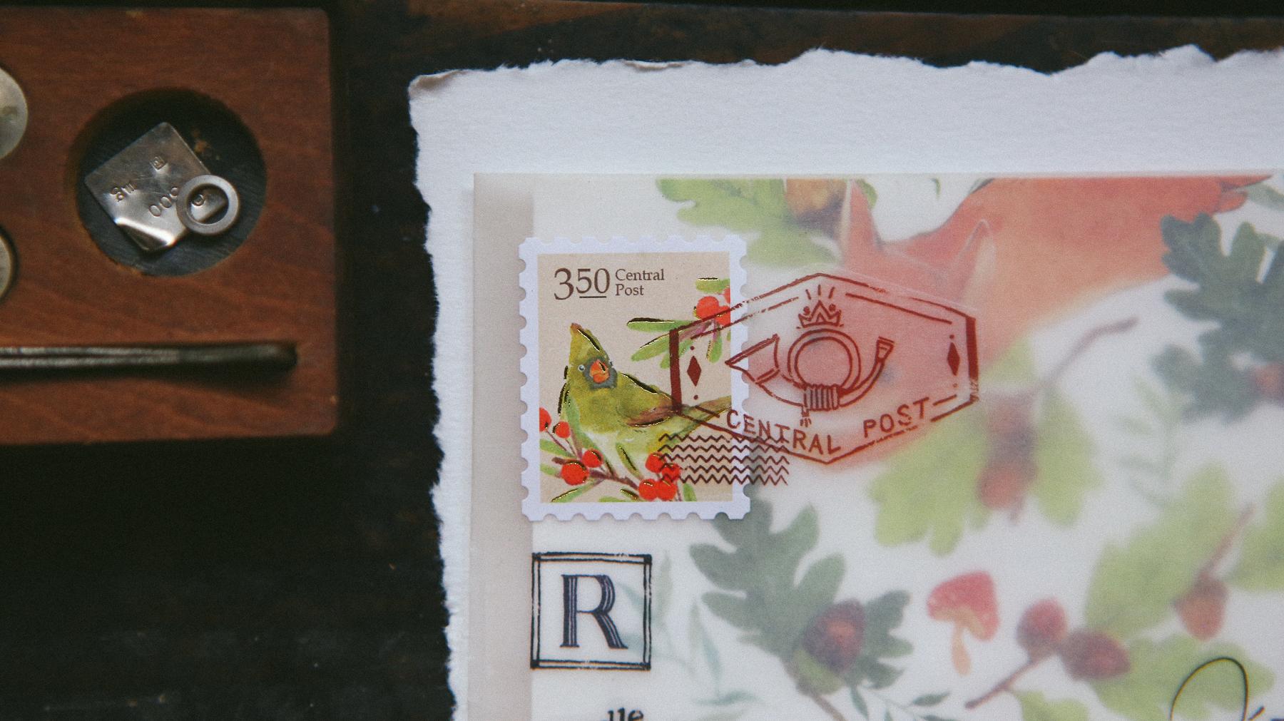 郵戳 轉印貼紙
