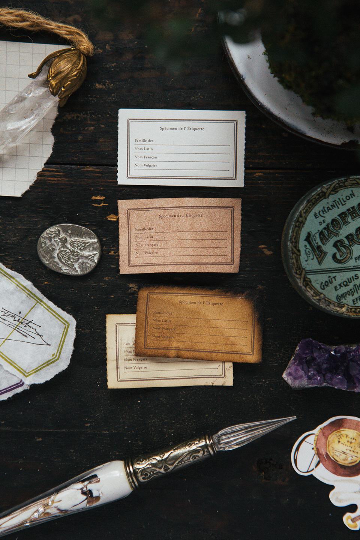 木製畫框 活版便箋本