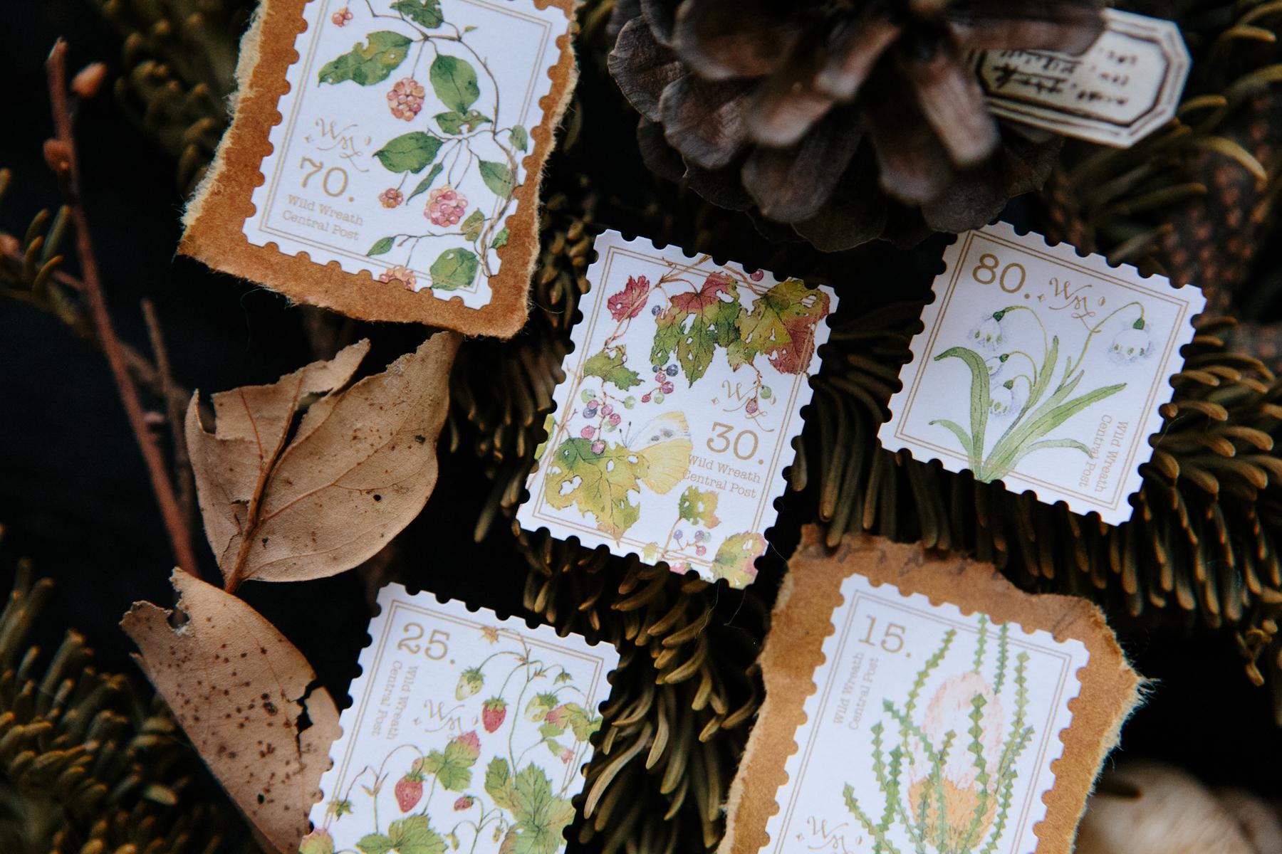 ORUS 抽屜之中 野地花禮2 郵票貼紙