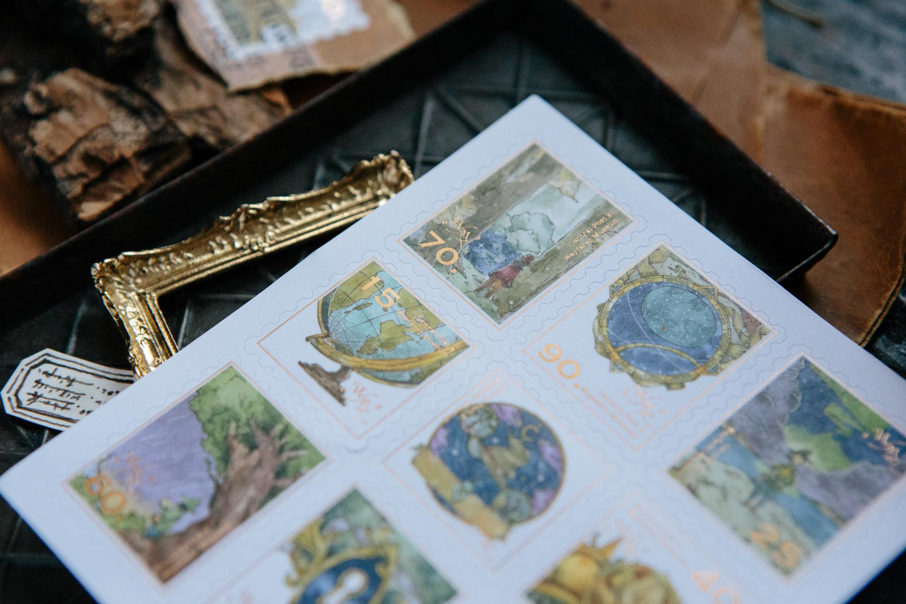 OURS 抽屜之中 旅者足跡 郵票貼紙