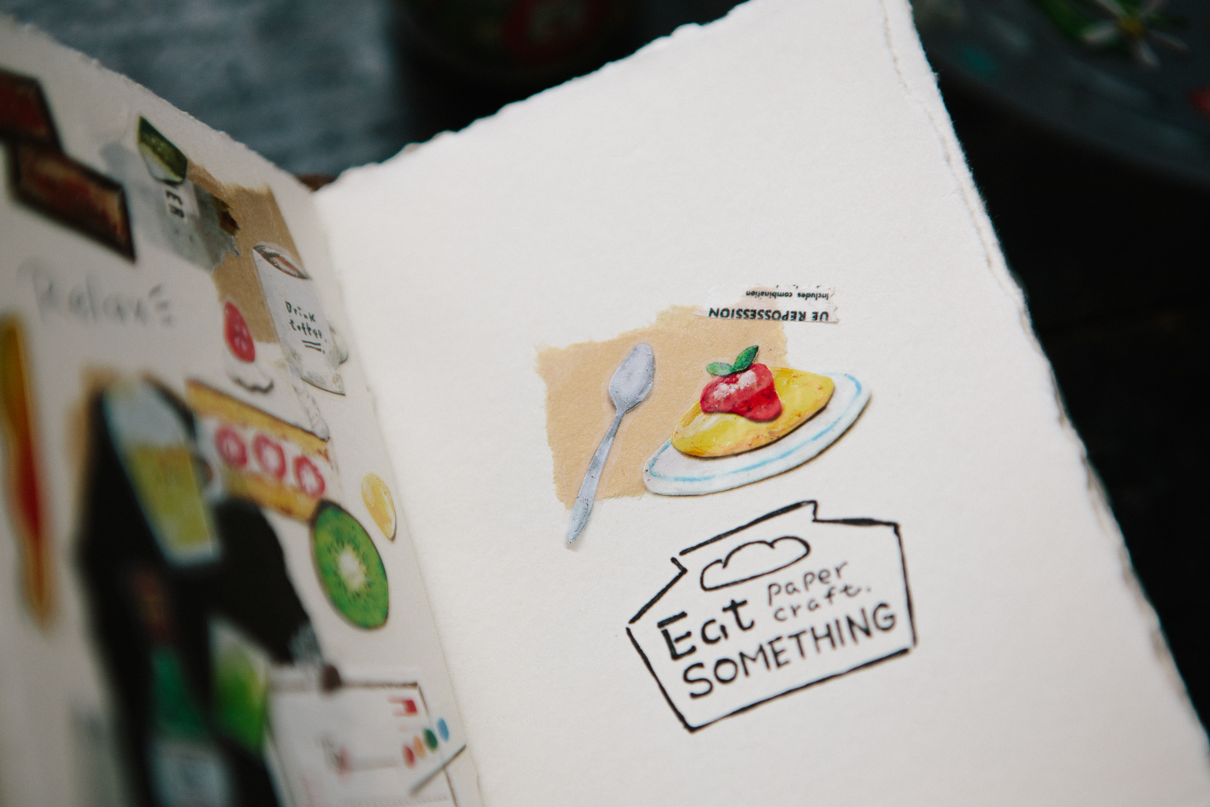 Paper Craft - Eat Something PET 膠帶