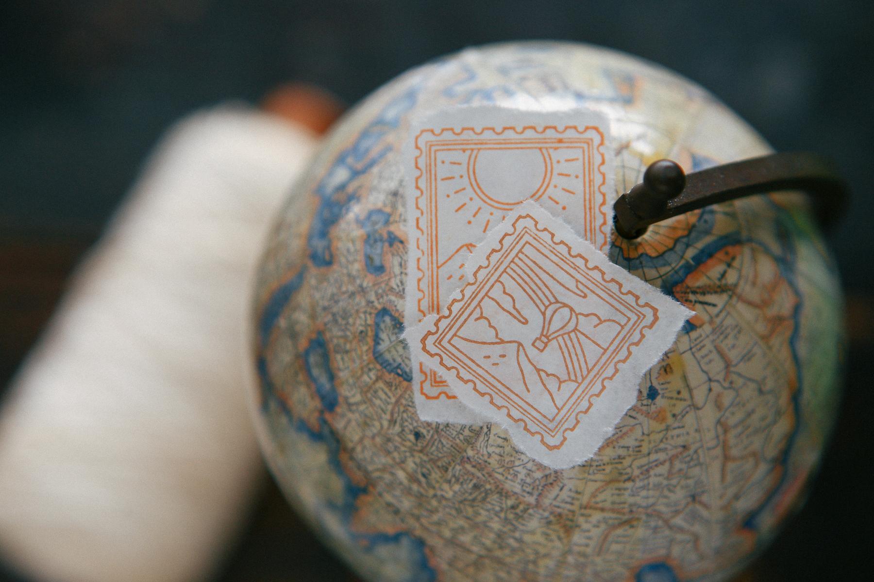 耀日 郵票印章組