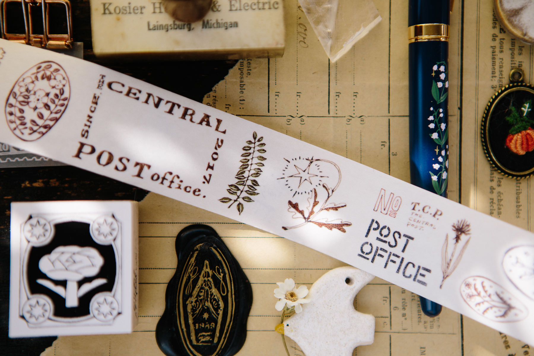 OURS 森林郵務 和紙膠帶
