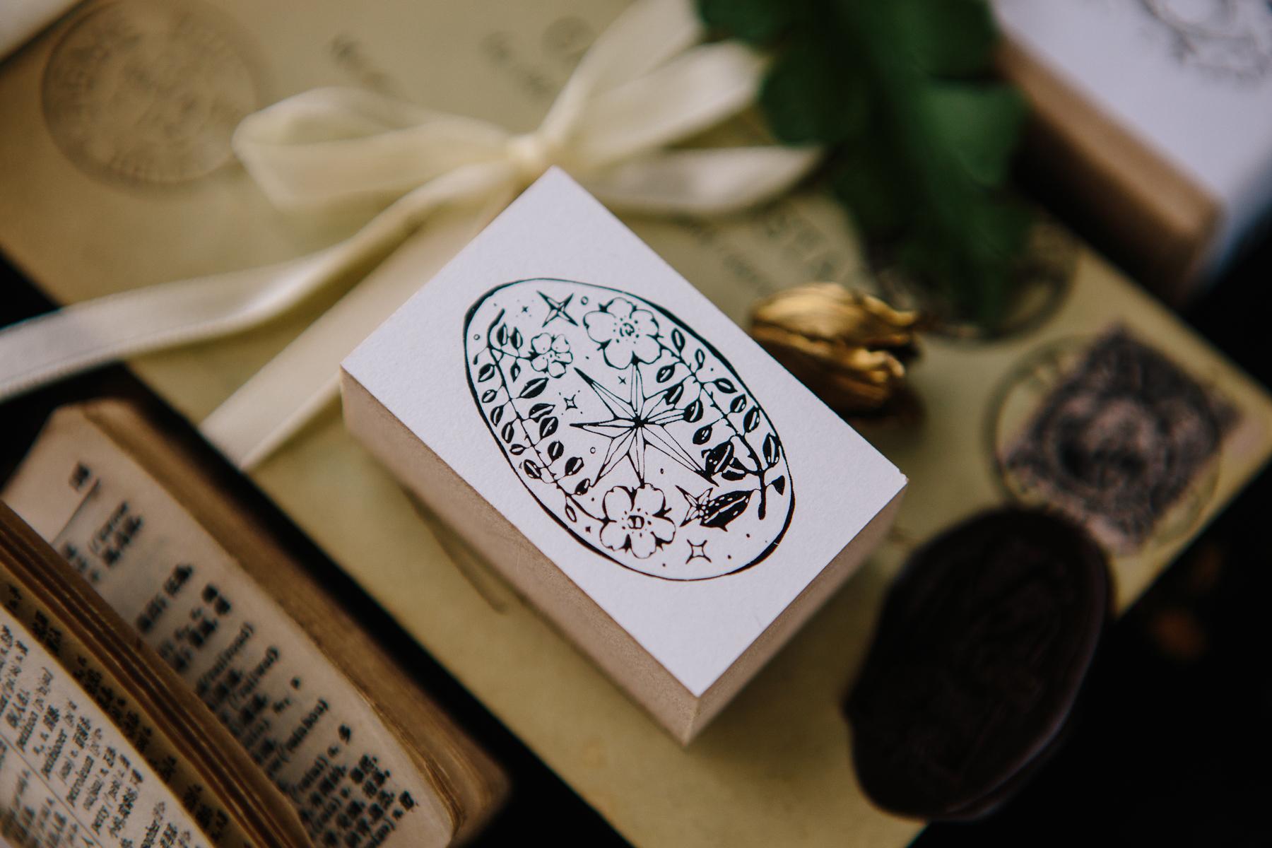 OURS 森林郵務A 壓縮木印章組