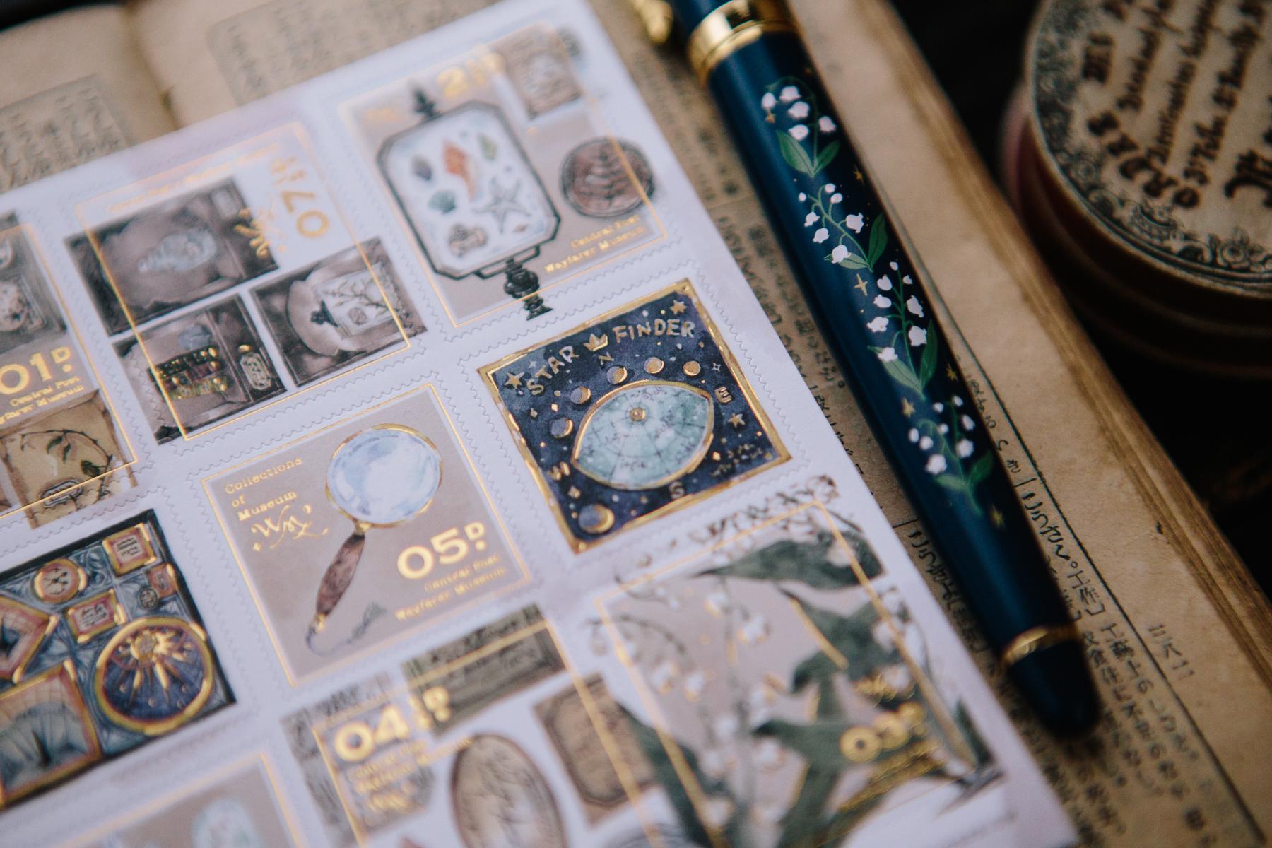 新博物館藏 郵票貼紙