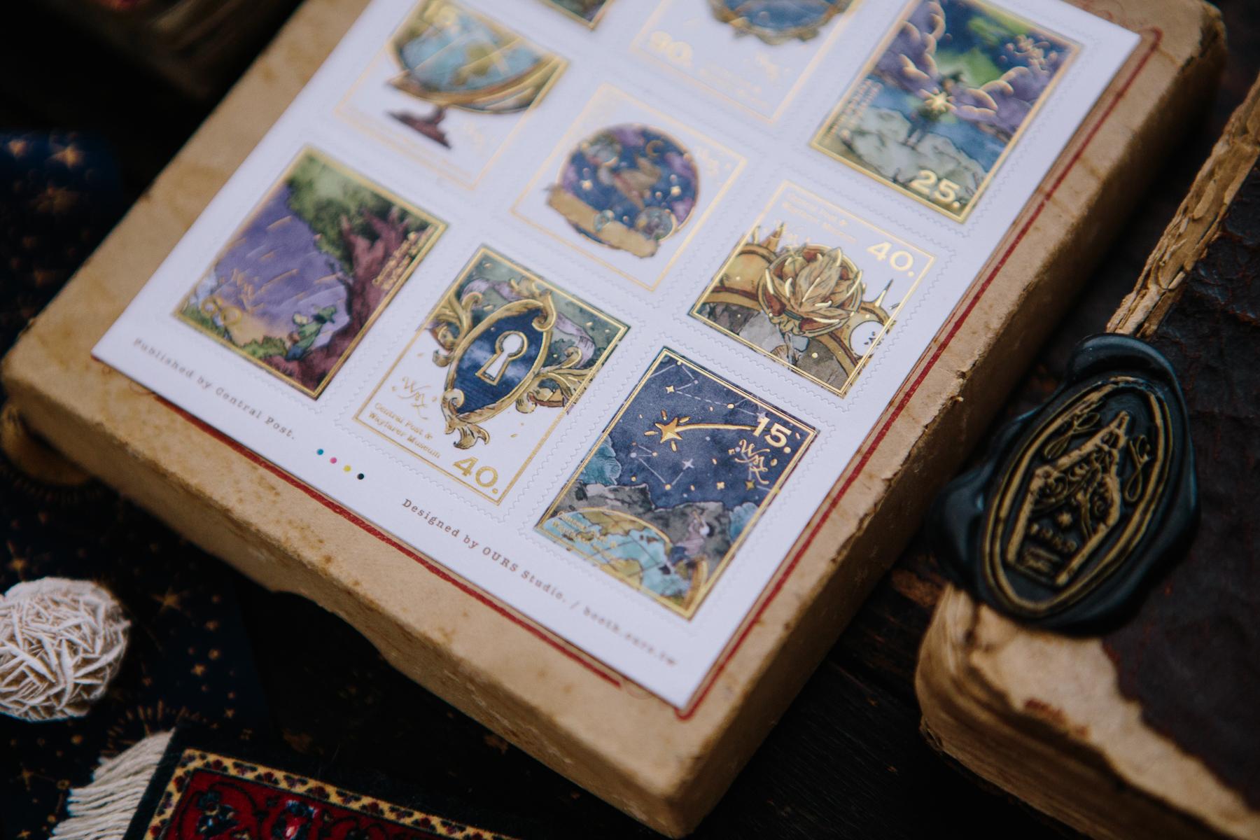 新旅者足跡 郵票貼紙