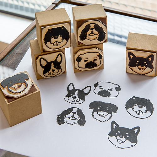 Dog Party DIY Stamp Set