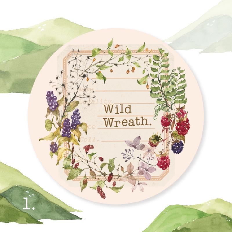Wild Wreath Masking Tape