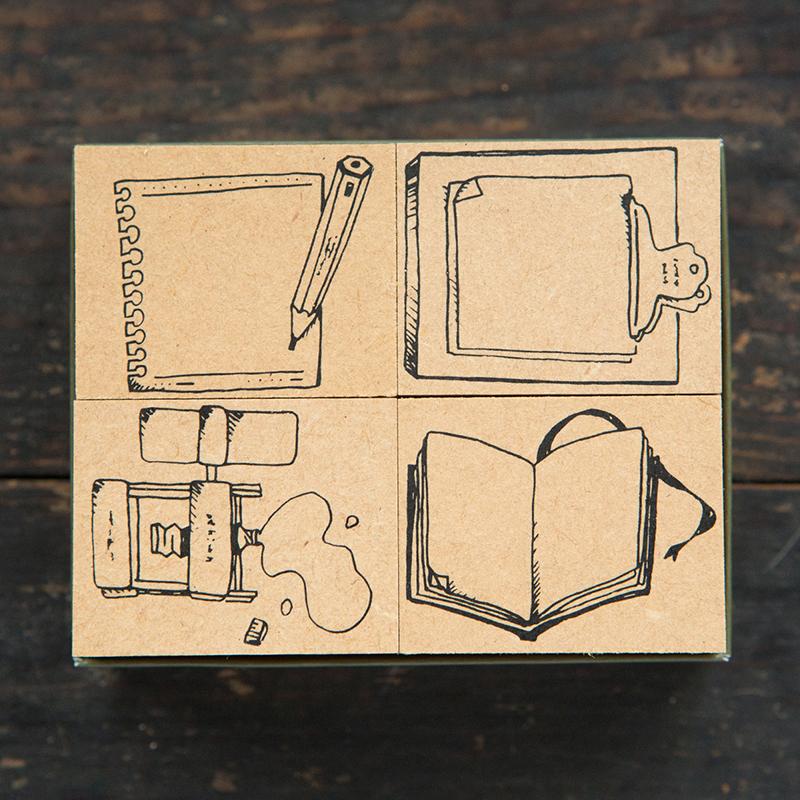 Stationary No. 2 DIY Stamp Set