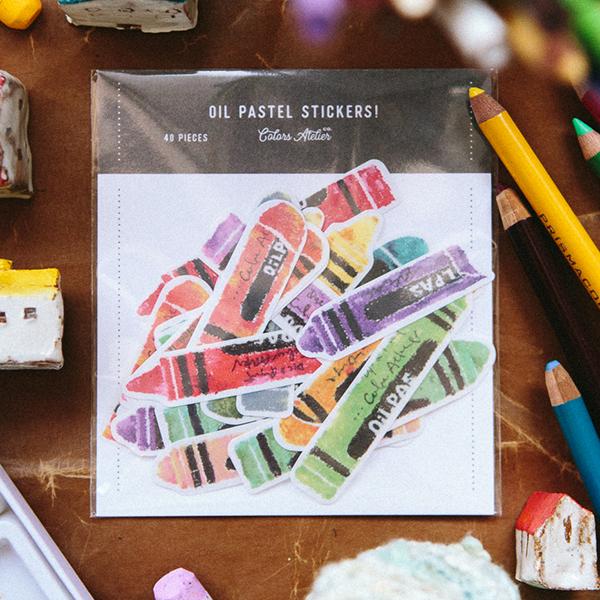 Crayon Sticker Pack