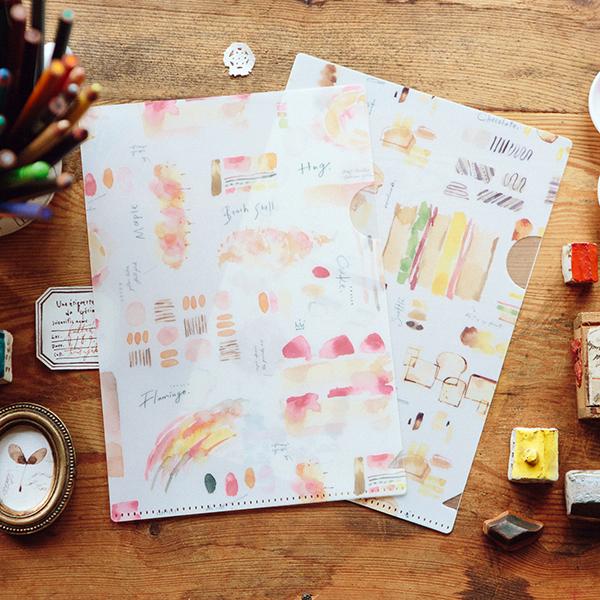 Color Atelier A5 file folder