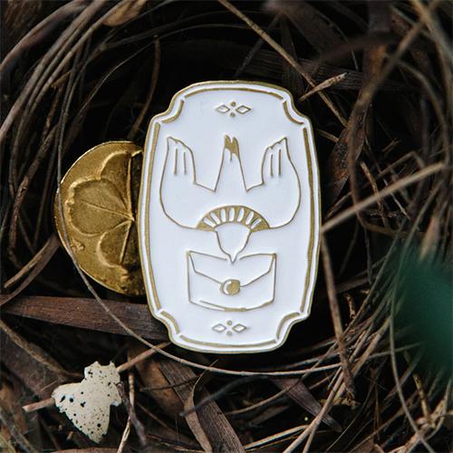 《Bird - Mail In》 Metal Pin