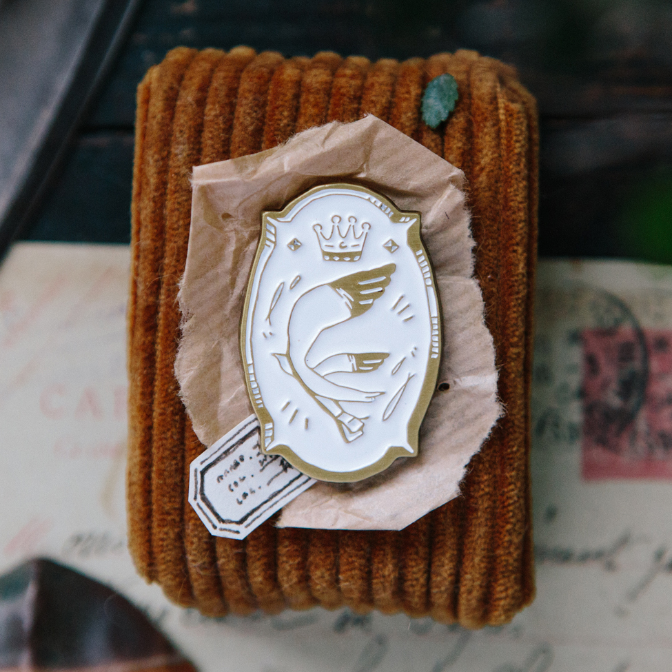 《Bird - Mail Out》 Metal Pin