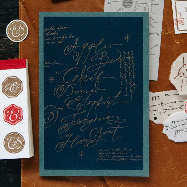 Writings RISO Scrapbooking Paper Book