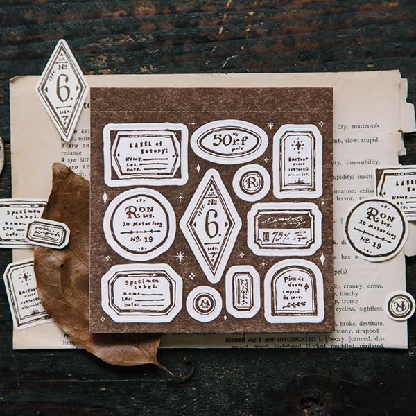 Tags Letterpress Label Book