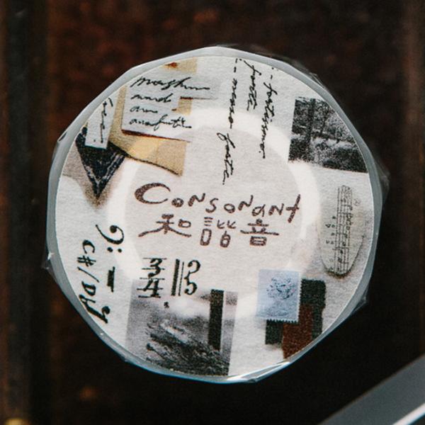 Consonant PET tape