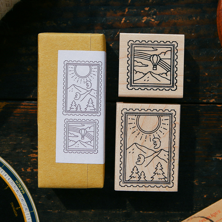 Sunny Day Rubberstamp Set