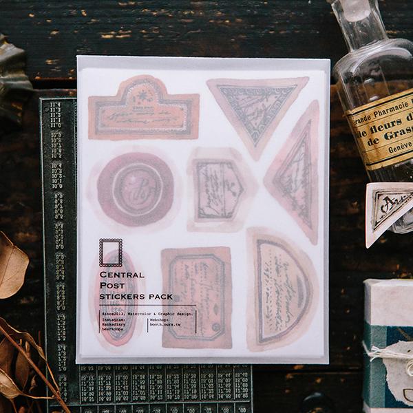 Old Labels Sticker Pack