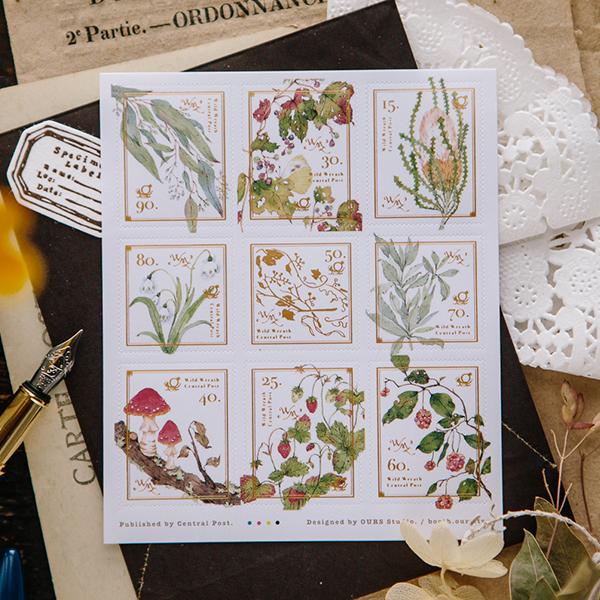 Wild Wreath 2 Stamp Sticker