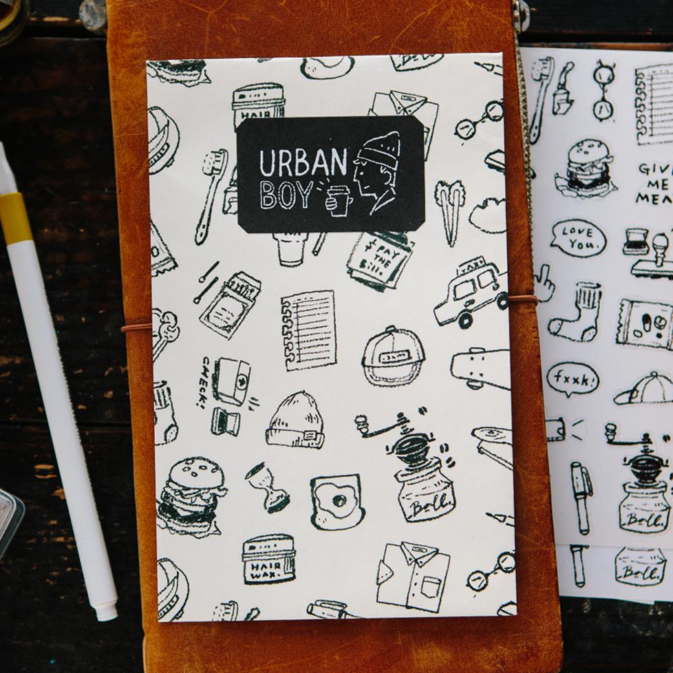 Urban Boy Sticker Pack